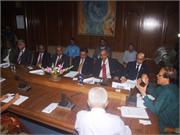 IMF Team Meets with BB Governor on 28 November, 2012 lead by Mr. David Cowen, Deputy Division Chief of Asia and Pacific Department